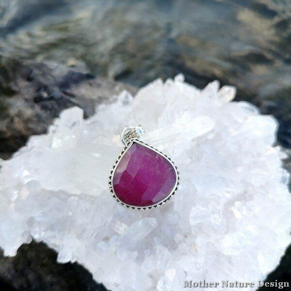 silverhalsband rubin