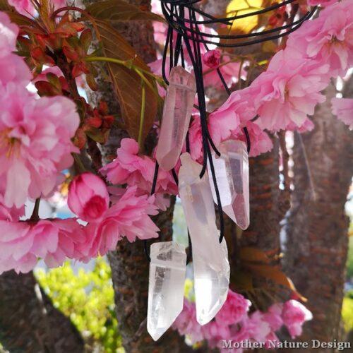spets bergkristall dekoration