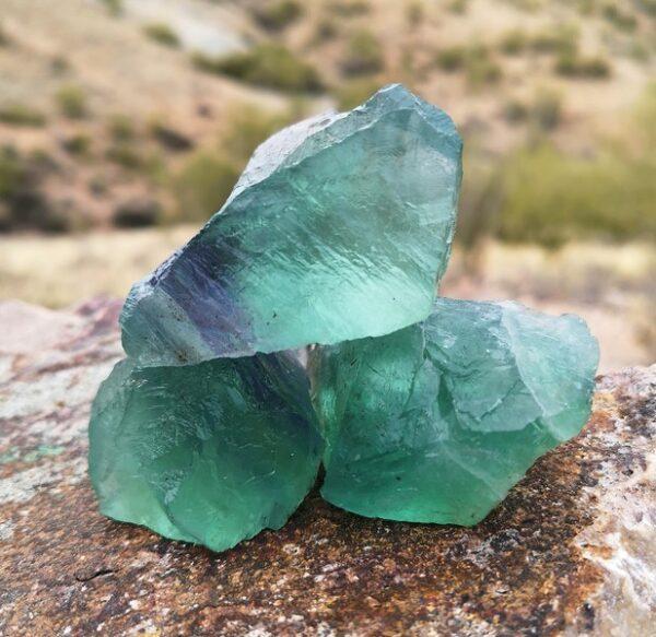råsten grön fluorit